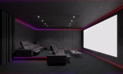 Media Room Design Ideas for Family Movie Night - Home ...