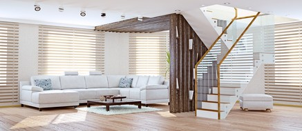 Why do you want motorized window treatments home for Do it yourself motorized blinds